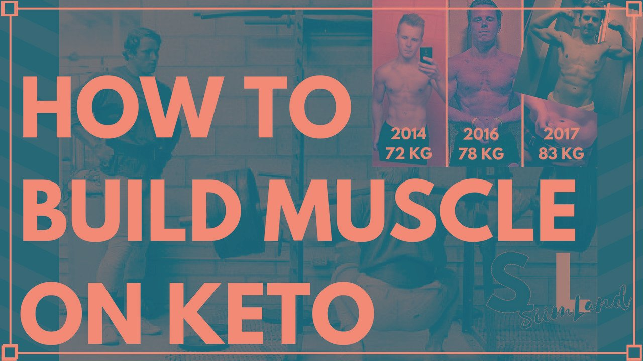 How To Build Muscle On Keto Blueprint
