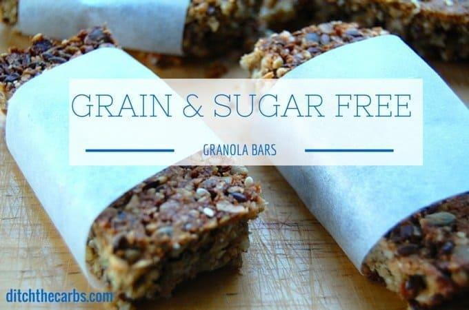 Diabetic Snack Bar Recipes