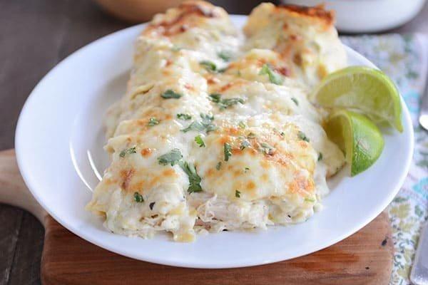 Diabetic Chicken Enchiladas