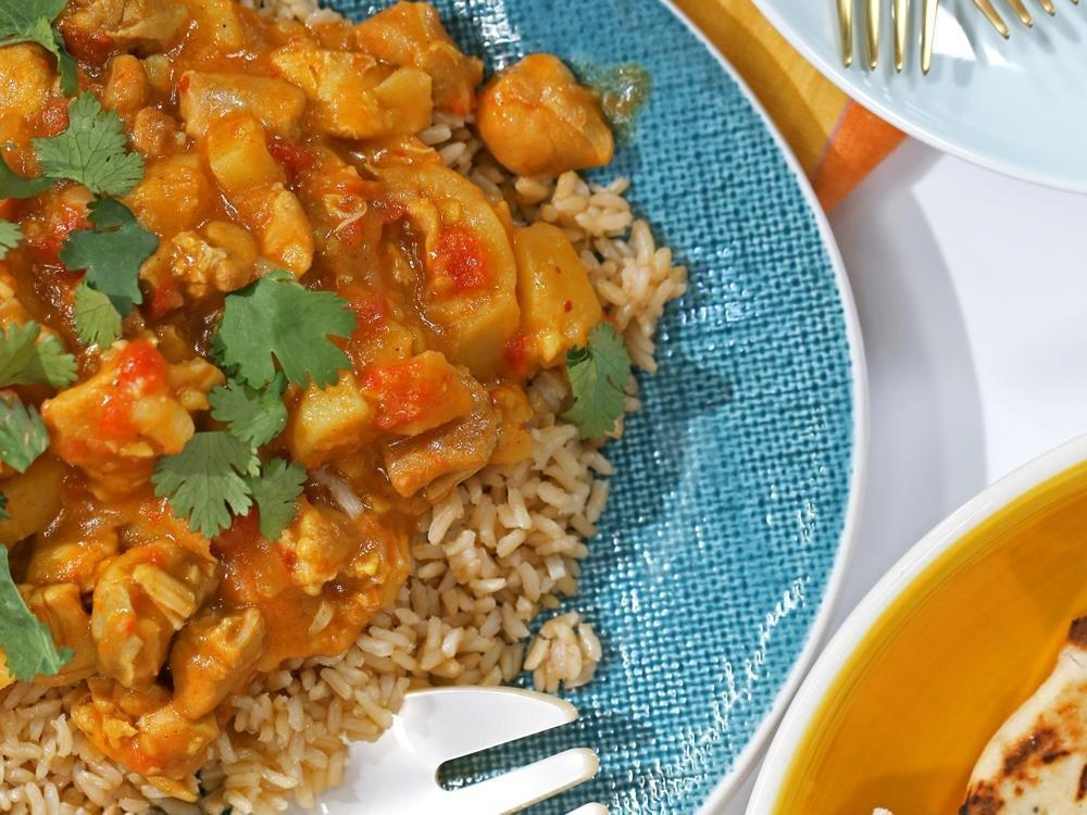 Diabetic Chicken Korma