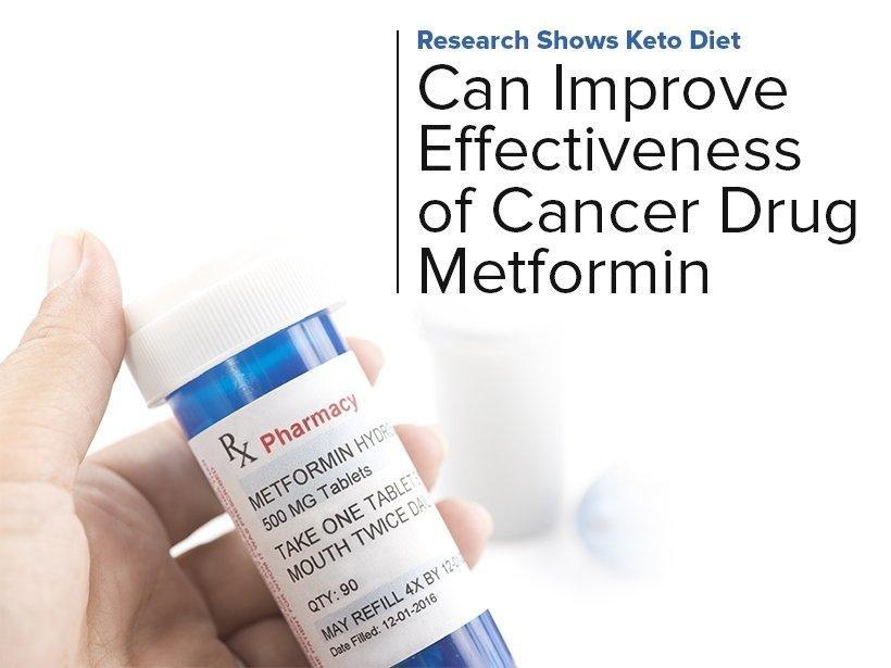 Research Shows Keto Diet Can Improve Effectiveness Of Cancer Drug Metformin