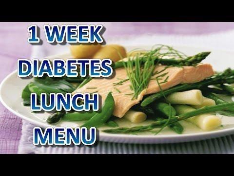 Diabetic Menu
