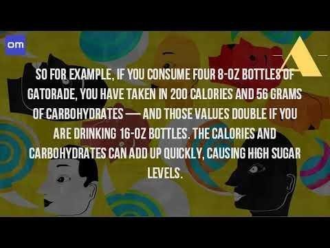 Can You Drink Gatorade If You Have Diabetes?