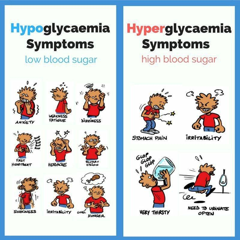 The Difference Between Hypoglycemia and Hyperglycemia