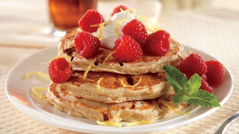 Cottage Cheese-lemon Pancakes