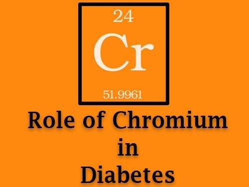 Chromium And Diabetes