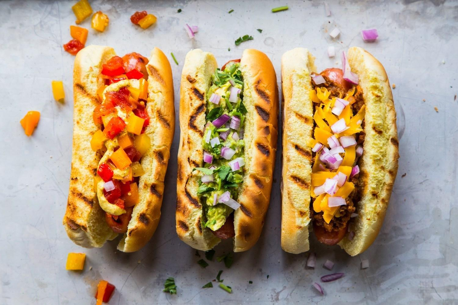 The Happy Diabetic's Healthy Hot Dog Topping Recipes - Divabetic
