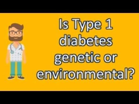 Is Type 1 Diabetes Hereditary Disease?