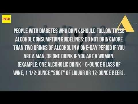 Can You Drink Alcohol When You Have Type 1 Diabetes?