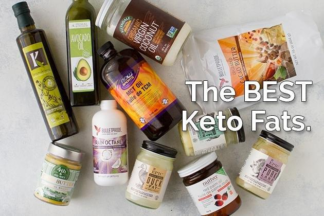The Best Fats To Eat When You're Keto