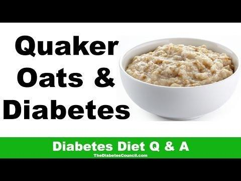 Is Quaker Oats Good For Diabetics?