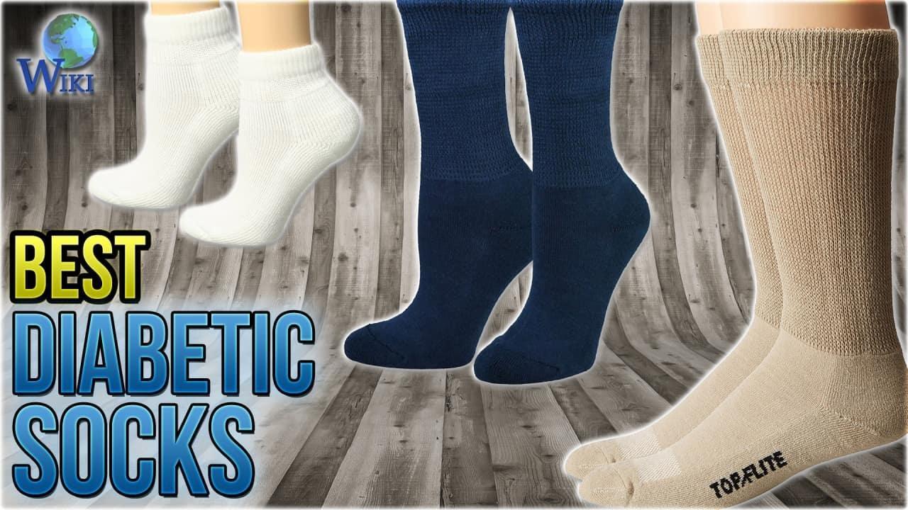 Top 10 Diabetic Socks Of 2018 | Video Review