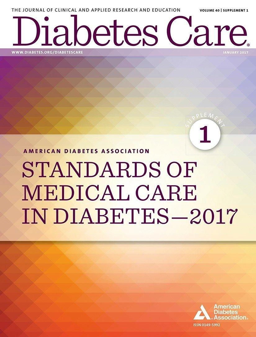 Classification And Diagnosis Of Diabetes Diabetes Care 2016