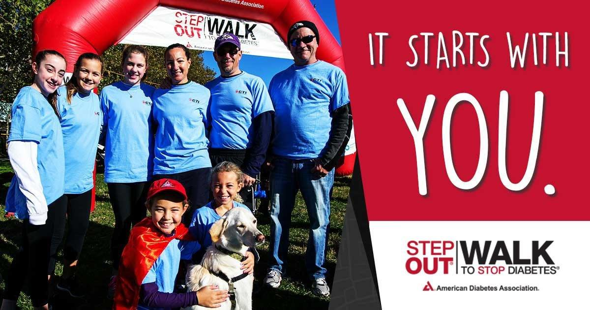 American Diabetes Association: Find Your Local Step Out