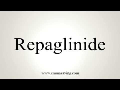 Repaglinide-metformin Hcl