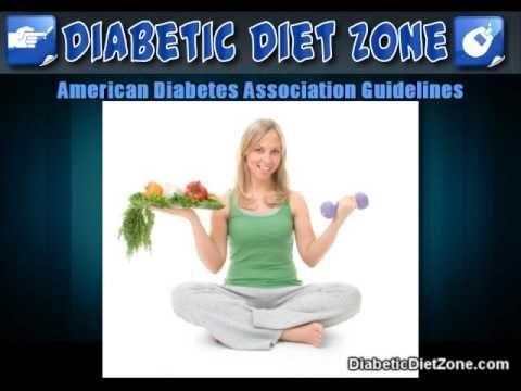 American Diabetes Association Dietary Guidelines