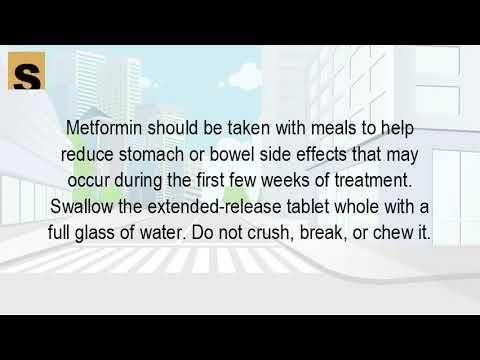 Can You Crush Regular Metformin