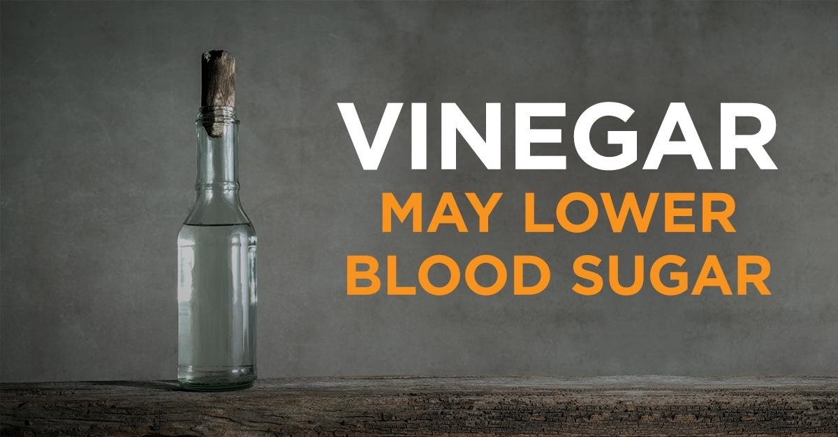 Vinegar May Lower Blood Sugar