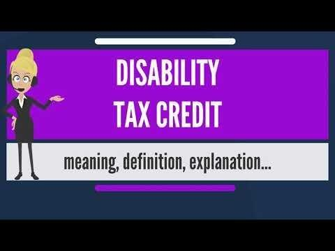 Disability Tax Credits And Benefits For Diabetes (type 2)