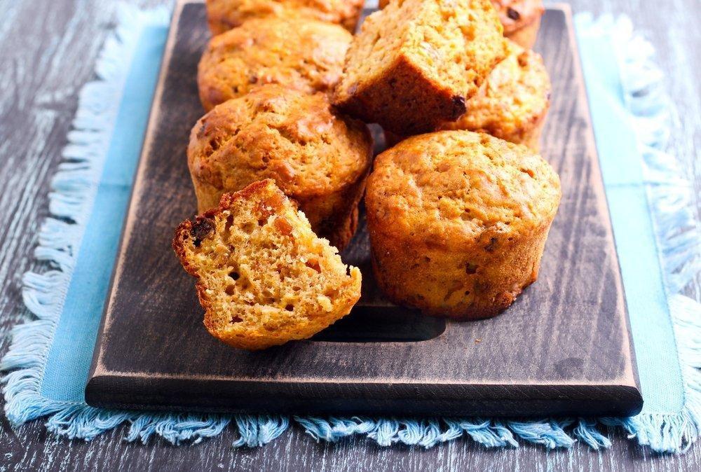 Carrot Oat Bran Muffin Recipe