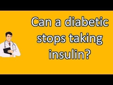 Can I Stop Taking My Diabetes Medicine After My Blood Sugar Is Under Control?