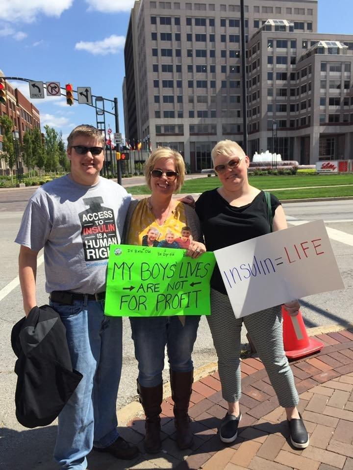 Diabetes Advocates Protest At Eli Lilly About Insulin Prices