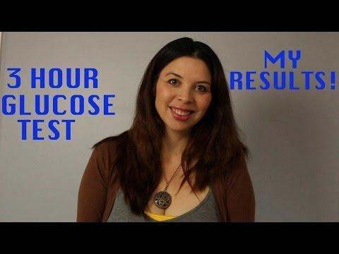 1 Hour Glucose Test Instructions
