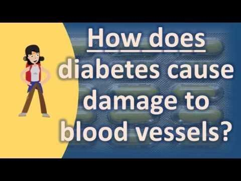 How Does Diabetes Affect The Heart And Blood Vessels?