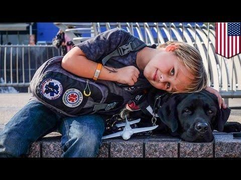 10-year-old Boy With Diabetes Got A Dog Who Monitors His Blood-sugar Levels