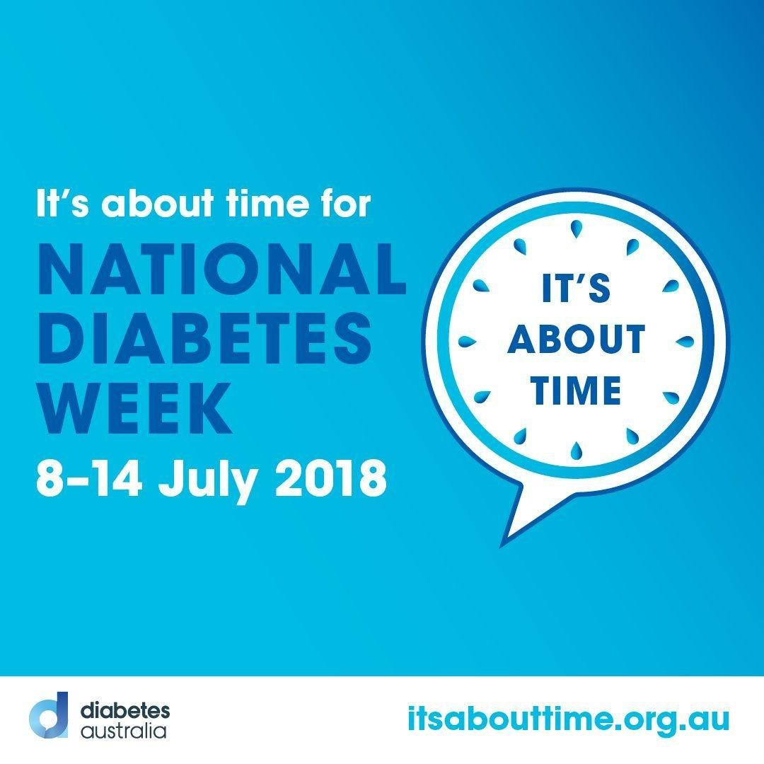 National Diabetes Week 2018