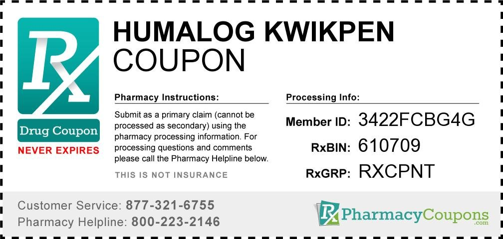 Free Humalog Pen Coupon