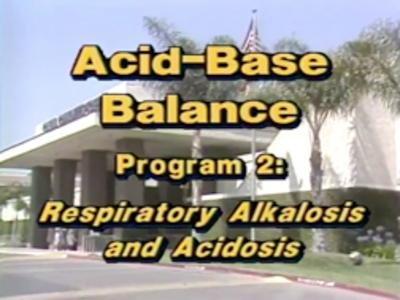 Films Media Group - Respiratory Alkalosis And Acidosis: Acid/base Balance