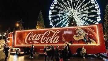 HGV full of liquid diabetes heralds start of Christmas