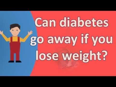 Do You Lose Weight If You Have Diabetes