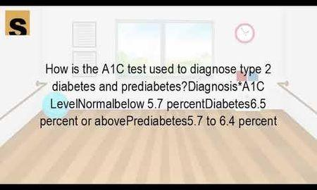 Diabetes Diagnosis A1c