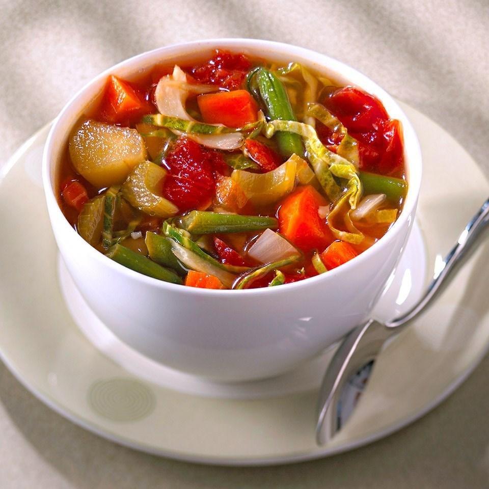 Versatile Vegetable Soup Recipe - Eatingwell