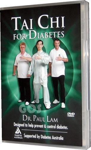 Tai Chi For Diabetes - Dr Paul Lam Dvd - New & Unsealed (see Condition Note)