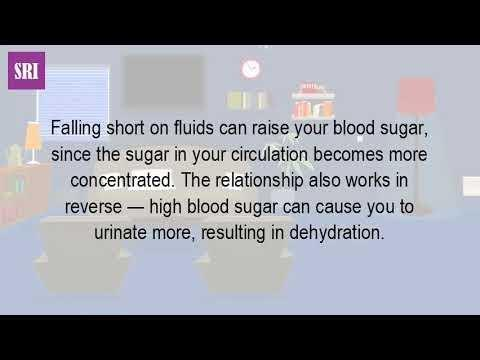 Will Blood Sugar Increase With Dehydration