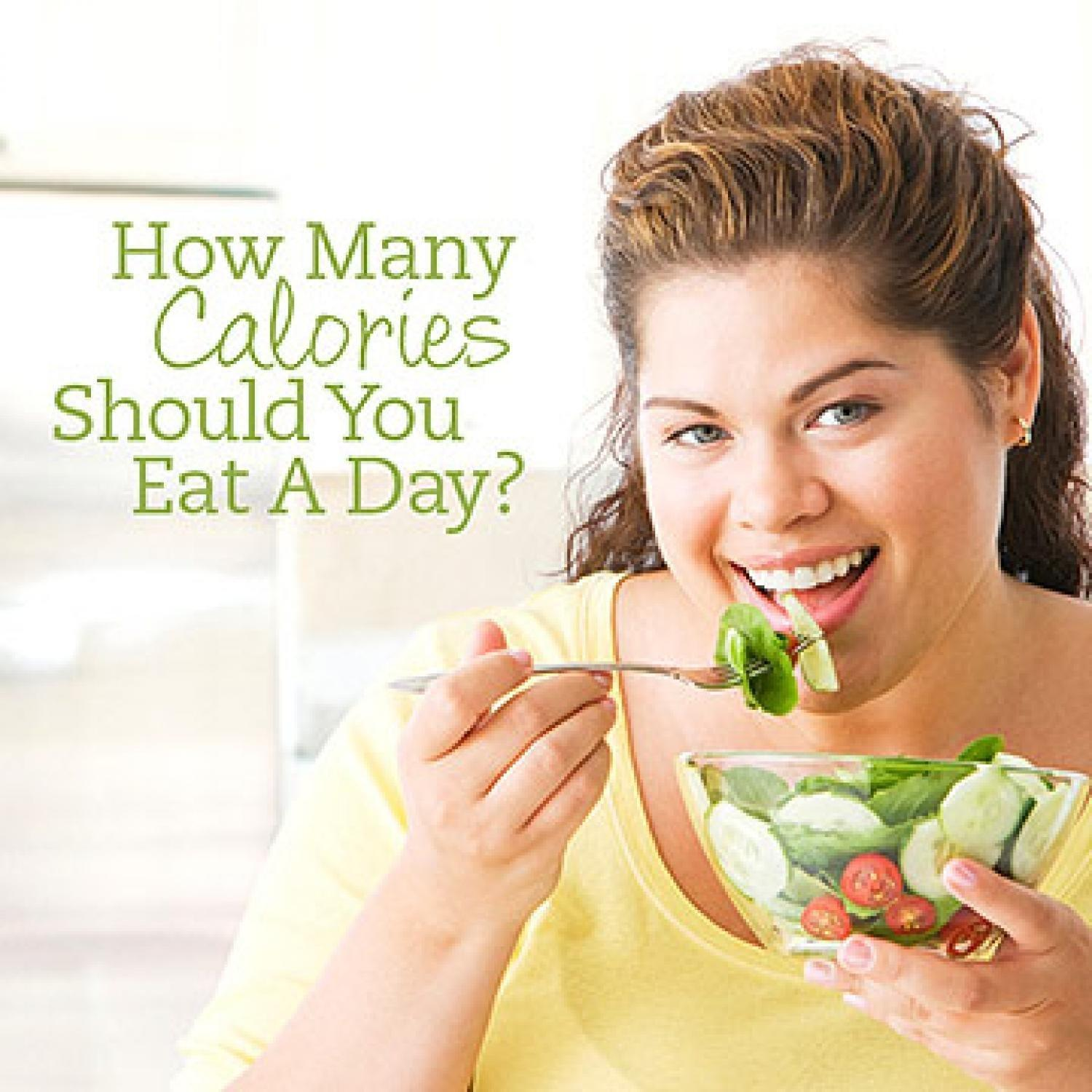 How Many Calories Should You Eat A Day?