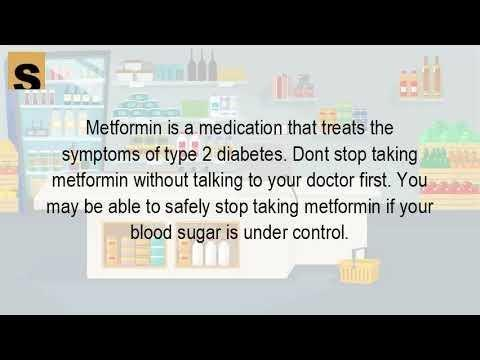 Can You Just Stop Taking Metformin?