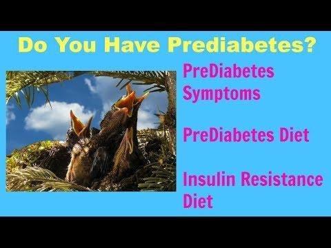 Management Of Prediabetes