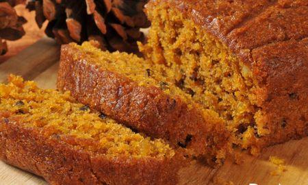 Paleo Pumpkin Bread Coconut Flour