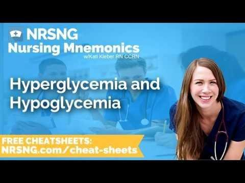 What Are The Signs And Symptoms Of Hyperglycemia And Hypoglycemia?
