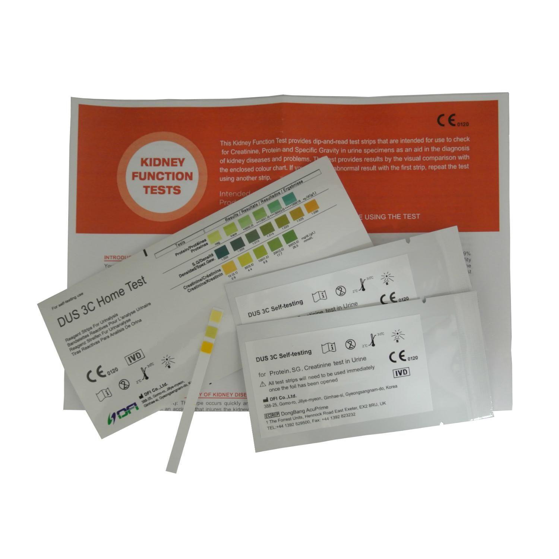 2×1 Home Kidney – Renal Function Disease Urine Strip Tests