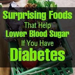 List Of Foods That Lower Blood Sugar Levels