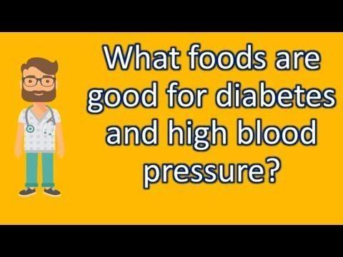 High Blood Pressure Diabetes Diet Menu