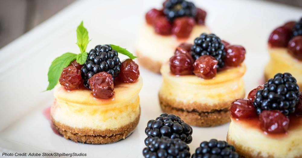 Diabetes-Friendly Mini Cheesecakes!