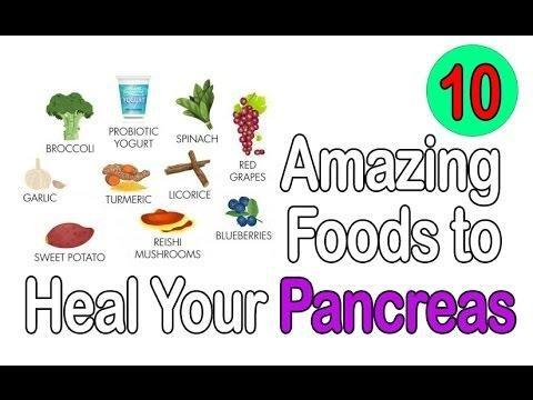 Pancreas Strengthening Foods