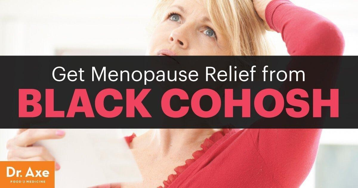 Relieve Menopause Symptoms & More With Black Cohosh