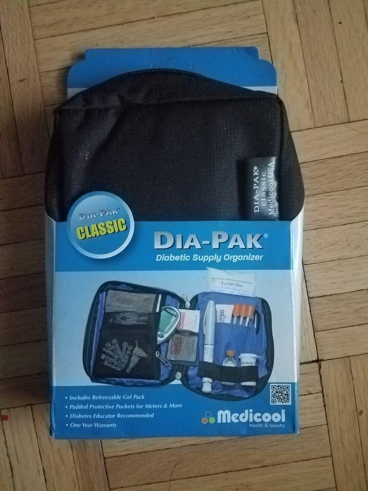 Black Medicool Dia-pak Classic Diabetic Supply Organizer   Ebay